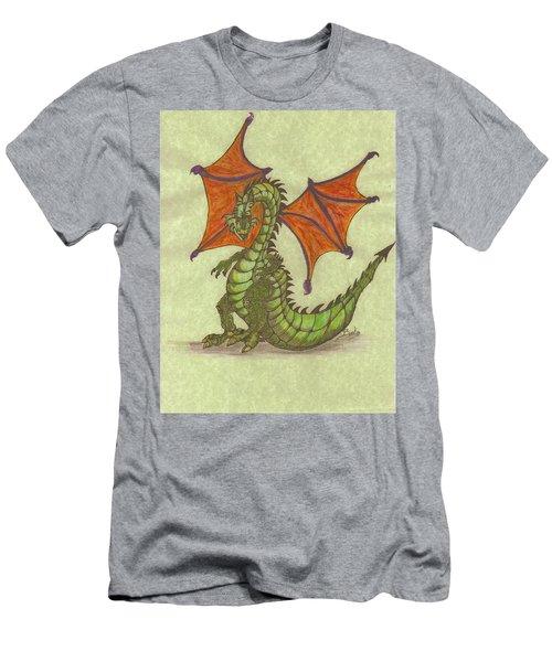 Green Dragon Men's T-Shirt (Slim Fit)