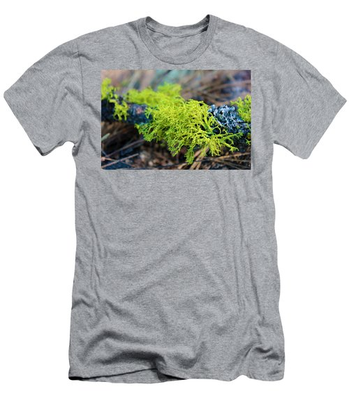 Green Lichen Men's T-Shirt (Athletic Fit)