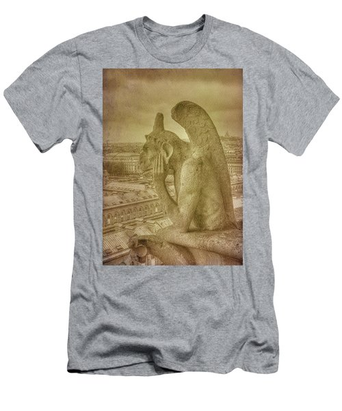 Grotesque From Notre Dame Men's T-Shirt (Athletic Fit)