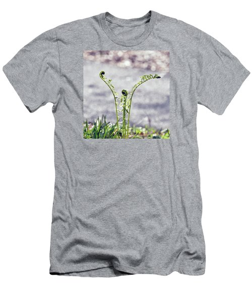 Men's T-Shirt (Slim Fit) featuring the photograph Growing  by Kerri Farley