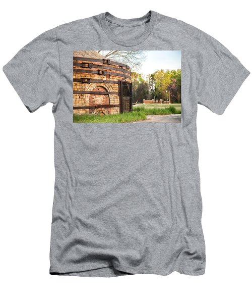 Guignard Brick Works-1 Men's T-Shirt (Athletic Fit)