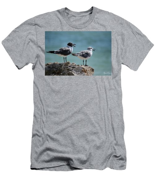 Gull Talk Men's T-Shirt (Athletic Fit)