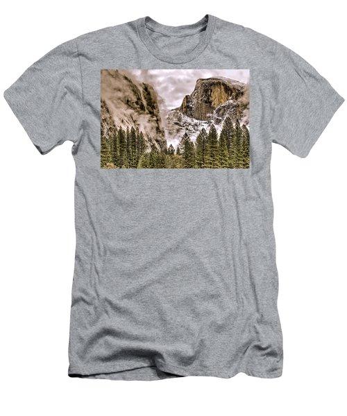 Menacing Rocks Men's T-Shirt (Athletic Fit)