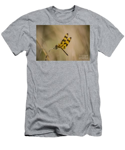 Halloween Pennant Dragonfly Men's T-Shirt (Athletic Fit)