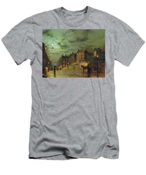 Hampstead Hill, Looking Down Heath Street, 1881 Men's T-Shirt (Athletic Fit)