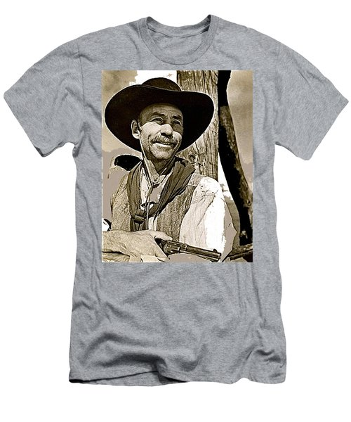 Hank Worden Publicity Photo Red River 1948-2013 Men's T-Shirt (Slim Fit) by David Lee Guss