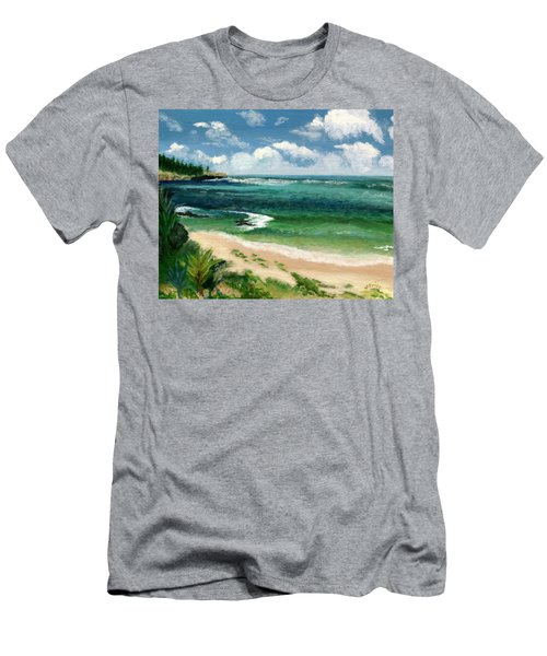 Hawaii Beach Men's T-Shirt (Athletic Fit)