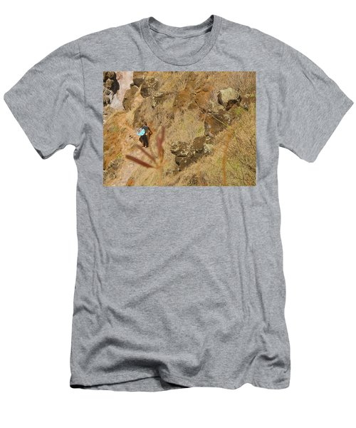 Hawaiian Commute Men's T-Shirt (Athletic Fit)