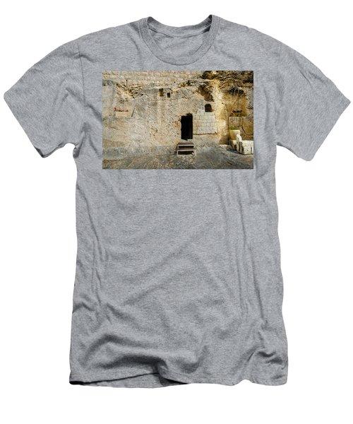 He Is Risen Men's T-Shirt (Athletic Fit)