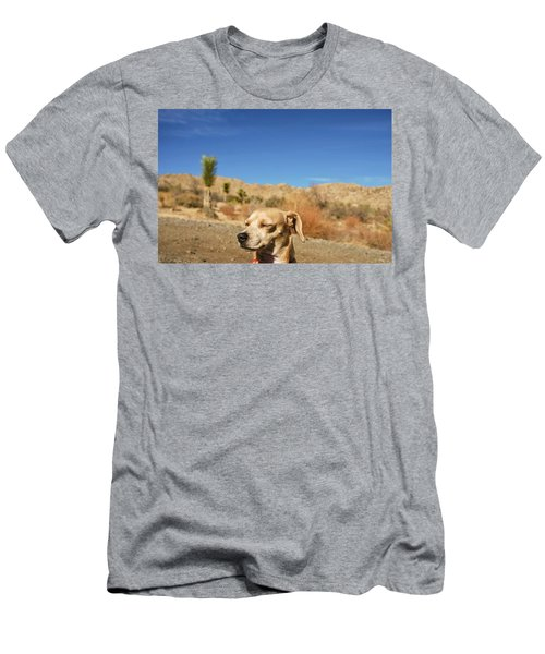 Men's T-Shirt (Slim Fit) featuring the photograph Headache by Angela J Wright