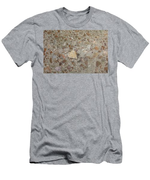 Men's T-Shirt (Slim Fit) featuring the photograph Heart Of Stone by Fortunate Findings Shirley Dickerson