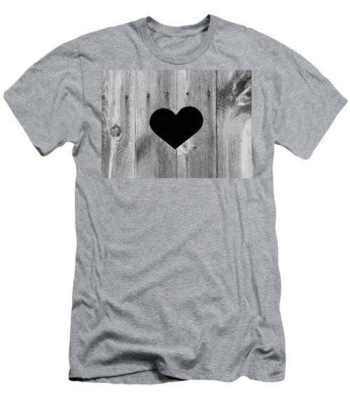 Vintage Toilet Sign Men's T-Shirt (Athletic Fit)