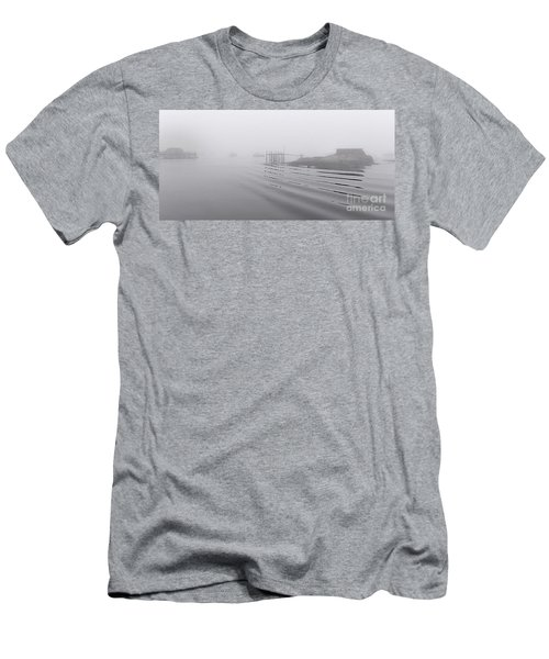 Heavy Fog And Gentle Ripples Men's T-Shirt (Athletic Fit)