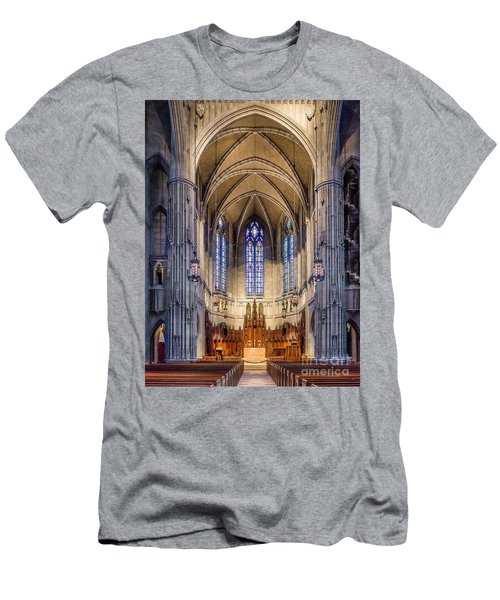 Heinz Chapel - Pittsburgh Pennsylvania Men's T-Shirt (Athletic Fit)