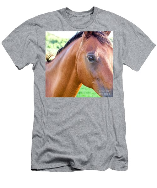Men's T-Shirt (Slim Fit) featuring the photograph Hello Beauty by Roselynne Broussard