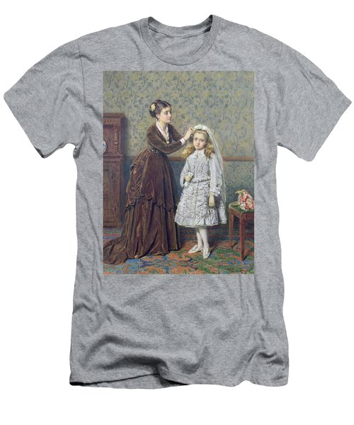 Her First Communion Men's T-Shirt (Athletic Fit)