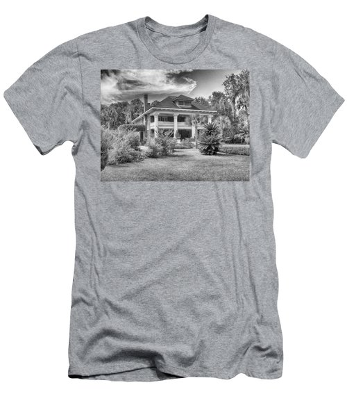 Men's T-Shirt (Slim Fit) featuring the photograph Herlong Mansion by Howard Salmon