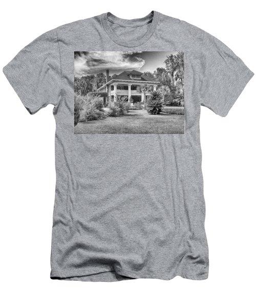 Herlong Mansion Men's T-Shirt (Slim Fit) by Howard Salmon