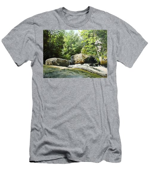 Hideaway Men's T-Shirt (Athletic Fit)
