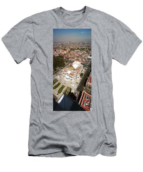 High Angle View Of Palacio De Bellas Men's T-Shirt (Athletic Fit)