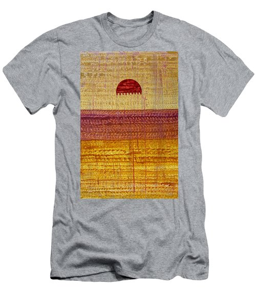 High Desert Horizon Original Painting Men's T-Shirt (Athletic Fit)