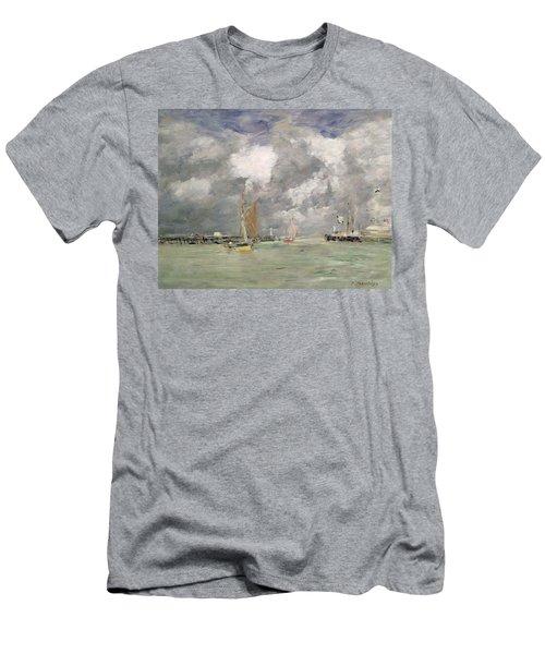High Tide At Trouville Men's T-Shirt (Athletic Fit)