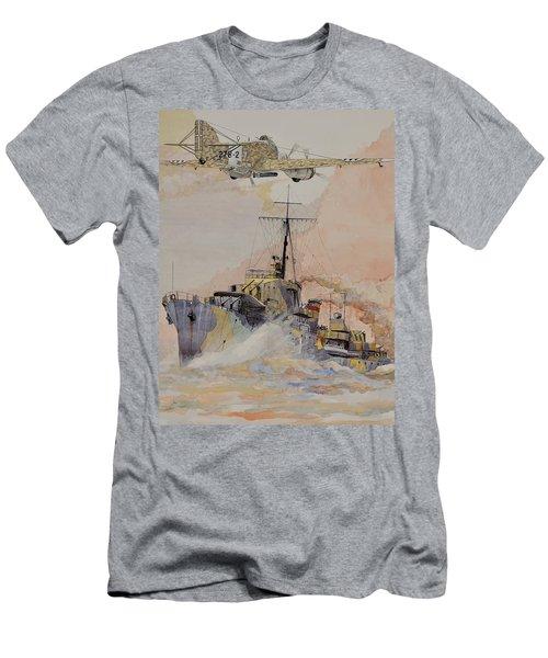Hms Ashanti Men's T-Shirt (Slim Fit) by Ray Agius