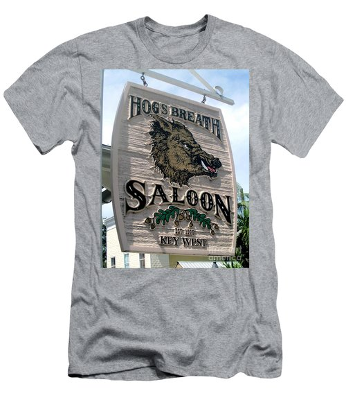 Hog's Breath Saloon Men's T-Shirt (Slim Fit) by Fiona Kennard
