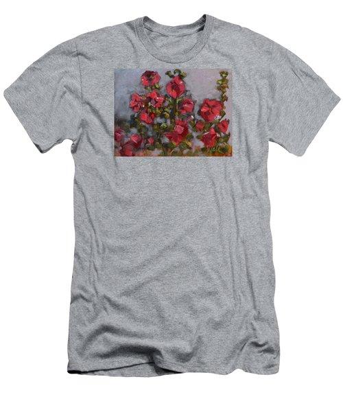 Hollyhocks Men's T-Shirt (Athletic Fit)