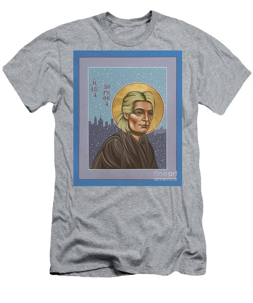 Holy Prophet Dorothy Day 154 Men's T-Shirt (Athletic Fit)