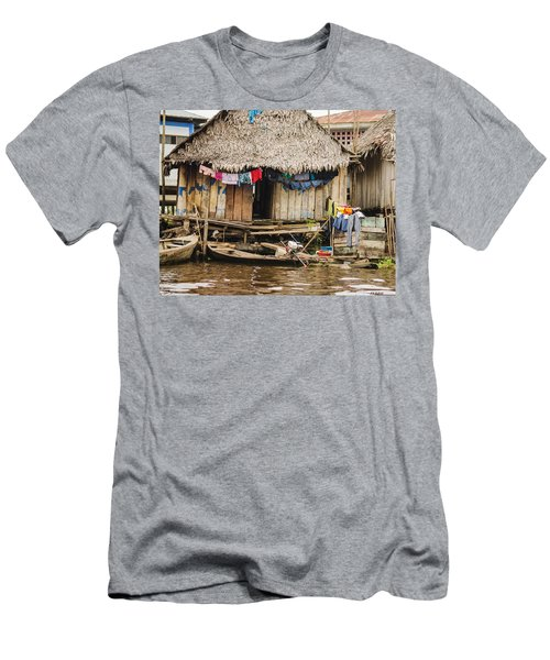 Home In Shanty Town Men's T-Shirt (Athletic Fit)