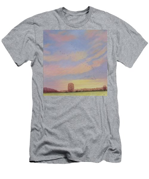 Homeward Men's T-Shirt (Slim Fit) by Ann Brian