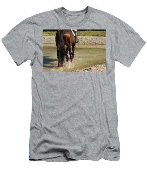 Horse In Water Men's T-Shirt (Athletic Fit)