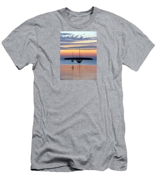 Horsehoe Island Sunset Men's T-Shirt (Slim Fit) by David T Wilkinson