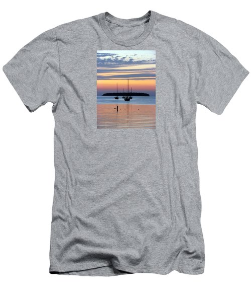 Horsehoe Island Sunset Men's T-Shirt (Athletic Fit)