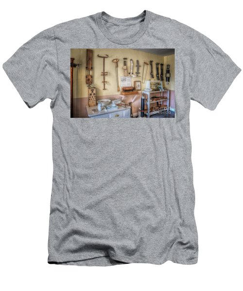 Hospital Museum Men's T-Shirt (Slim Fit) by Adrian Evans