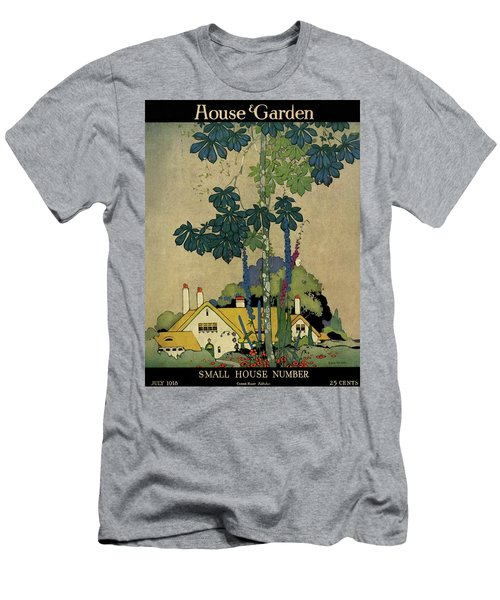 House And Garden Cover Men's T-Shirt (Athletic Fit)