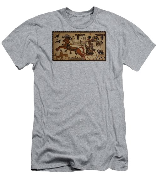 Hunting Scene Men's T-Shirt (Athletic Fit)