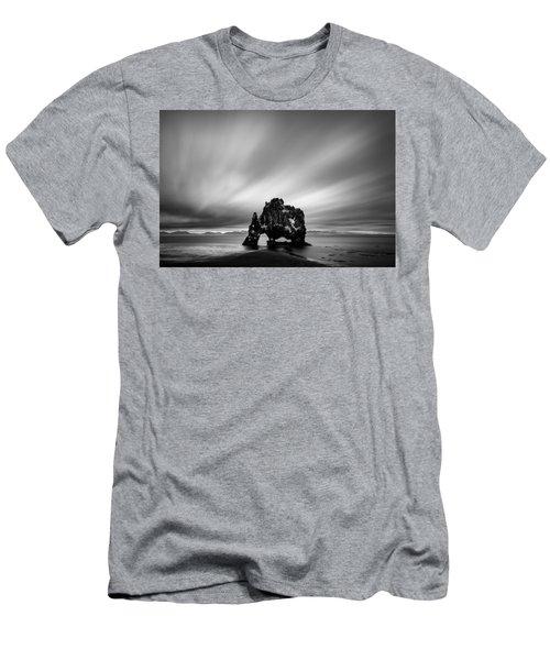 Hvitserkur Men's T-Shirt (Athletic Fit)