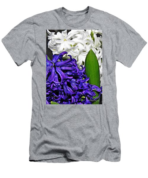 Hyacinths Men's T-Shirt (Athletic Fit)