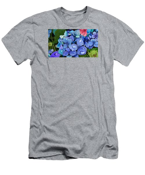 Hydrangea Drift  Men's T-Shirt (Athletic Fit)