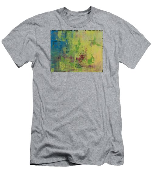 Curious Yellow Men's T-Shirt (Slim Fit) by Lee Beuther