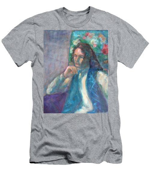 I Am Heathcliff - Original Painting  Men's T-Shirt (Athletic Fit)