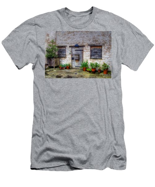 Men's T-Shirt (Slim Fit) featuring the photograph I Miss Home by Doc Braham