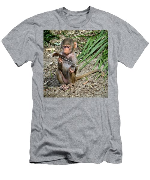 I Wonder What This Is Men's T-Shirt (Athletic Fit)