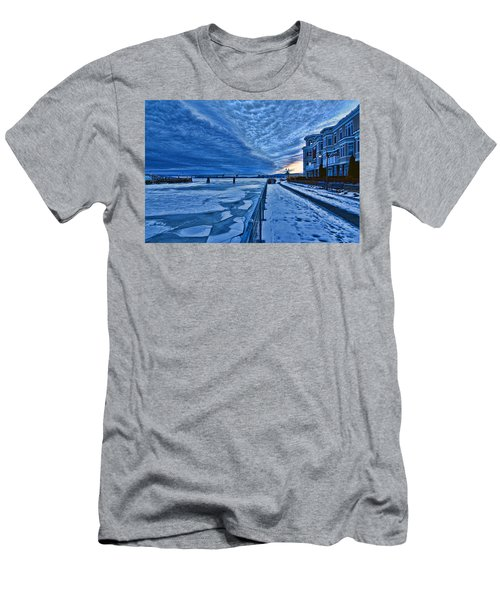 Ice Station Hudson Men's T-Shirt (Athletic Fit)