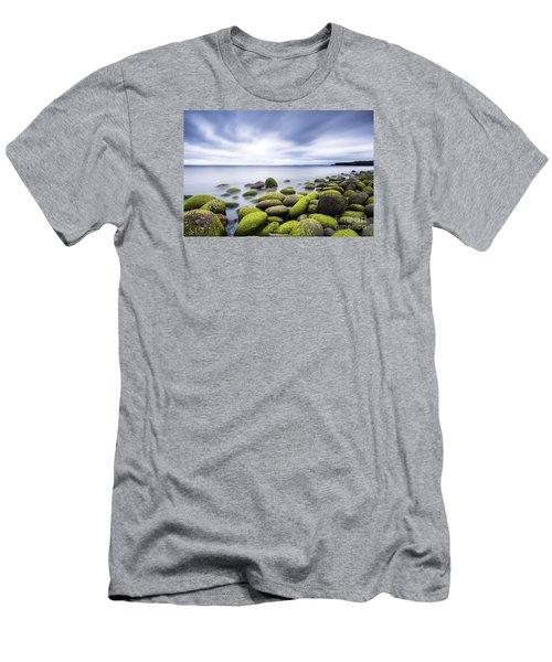 Iceland Tranquility 3 Men's T-Shirt (Slim Fit) by Gunnar Orn Arnason