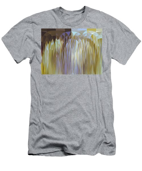 Men's T-Shirt (Athletic Fit) featuring the digital art Icy Blast by Mihaela Stancu
