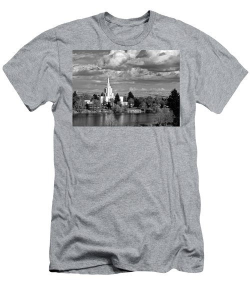 Idaho Falls Temple Men's T-Shirt (Athletic Fit)