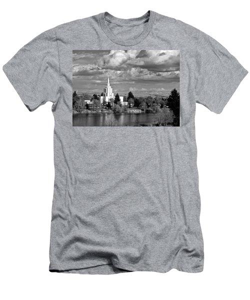 Idaho Falls Temple Men's T-Shirt (Slim Fit) by Eric Tressler